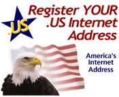 Register your .US today